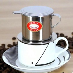 Imixlot Stainless Steel Metal Vietnamese Coffee Drip Cup Filter Maker Strainer (silver) - Intl By 2015 Great Future.