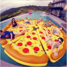 Inflatable Giant Pizza Floater By Your Little Shop.
