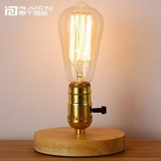 Edison Table Lamp Vintage Home Lighting Injuicy Lighting Loft
