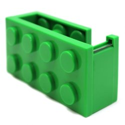 Inspire Block Tape Dispenser (Green)