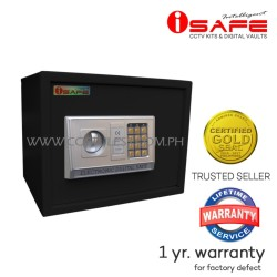 iSAFE iSF-30BLK Safe Electronic Digital Safety Vault (Black)
