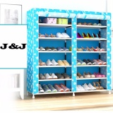 Flavor Household Shoes Rack Modern Double-layer Shoes Holder Space Saving Storage Rack Living Room Shoes Organizer Shelf Fragrant In