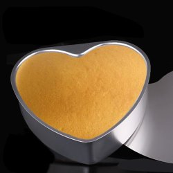Jetting Buy Cake Biscuit Baking Mold Aluminium Heart Shaped 5''
