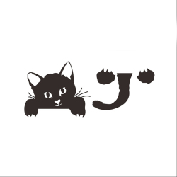 Jettingbuy Jetting Buy Switch Cat Wall Stickers Light Decor Decals Art