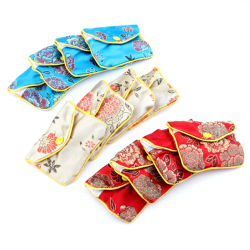 Jewellery Jewelry Silk Purse Pouch Gift Bag Bags (12pcs)