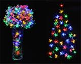 Jo.In 7M 50 LED Solar Flower String Light Waterproof Christmas Party Decor Light (Yellow) - thumbnail 1