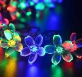 Jo.In 7M 50 LED Solar Flower String Light Waterproof Christmas Party Decor Light (Yellow) - thumbnail 2
