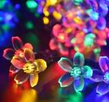 Jo.In 7M 50 LED Solar Flower String Light Waterproof Christmas Party Decor Light (Yellow) - thumbnail 3