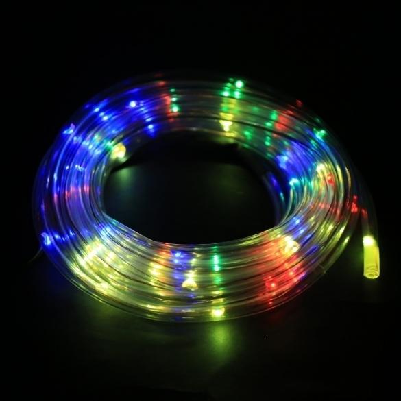 Jo.In 7M 50 Solar LED Rope Light Christmas Party Decor Light (Yellow) - thumbnail