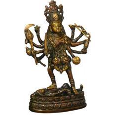 Hindu Goddess Kali Tshirts Son 100 Cotton Boys Girls Short Sleeve T Shirts For Toddler High Quality 4t 8t T Shirt Intl