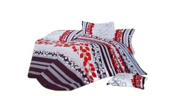 Keimav Cherry Linen Comforter 4-piece Set (Multicolor)