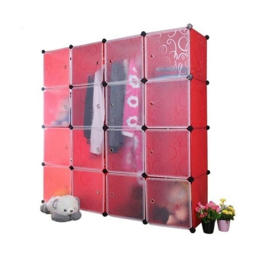 Keimav Tupper Cabinet 16 Cubes White