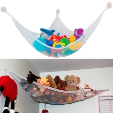 Kids Room Jumbo Toy Hammock Net Organizer Stuffed Doll Animals Storage (multicolor) By Etop Store.