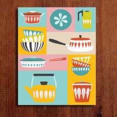 Kitchen Wall Art DIY Do It Yourself Oil Painting By