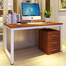 home office table desk. KRUZO Minimalist Home Office Desk Table BROWN (140cm X 70cm 74cm) 55.11in