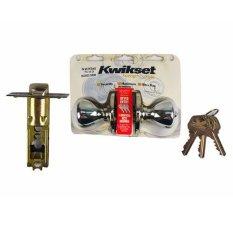 Kwikset Door Lock (Brass)