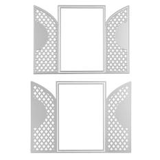 Lace Frames Metal Cutting Dies Stencil Template For Scrapbooking Greeting Cards Album Photo Paper Crafts Embossing