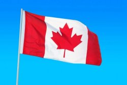 Large 3x5ft Canadian Flag Polyester Canada Maple Leaf Banner Outdoor (Intl)