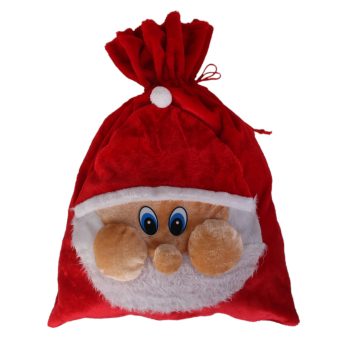 Large Christmas Santa Claus Holiday Children Present Festival Gift Bag