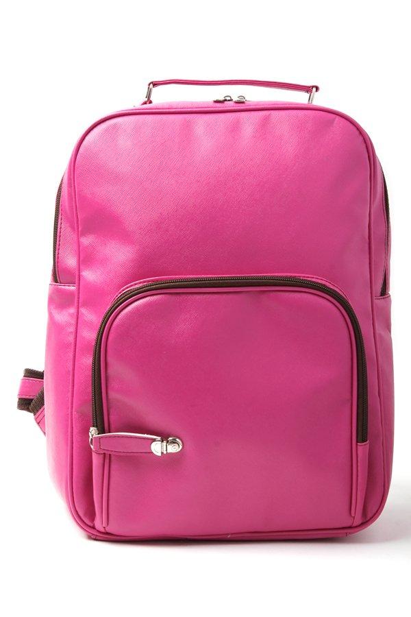 Le Organize Sammies Backpack (Magenta) - thumbnail