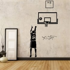 Little Love Kobe Basketball Lore Time Wall Stickers Bedroom Decoration  Stickers   M   Intl