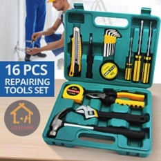 LOVE&HOME Kaishen Tools 16 Pcs Professional Hardware Home Repair Accessory Tools Set Philippines