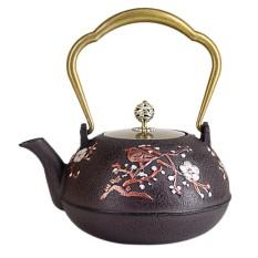 MagiDeal 1.3L Durable Japanese Style Cast Iron Kettle Tetsubin Teapot Tea Pot 2 - intl