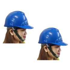 Meisons hard hat safety helmet PE material blue color (2 set) Philippines