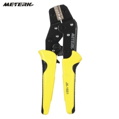 Meterk Professional Wire Crimper Engineering Ratchet Terminal Crimping  Pliers JX-06WF 0 25-6 mm2 Bootlace Ferrule Crimper Crimping Tool Cord End