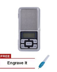 mh-500 Digital Pocket Scale with Free Engrave it