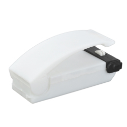 Mini Portable Handy Plastic Bag Sealer - White (2 x AA)