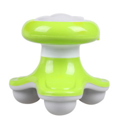 Mini USB Electric Handled Wave Vibrating Massager Full Body Massage Green