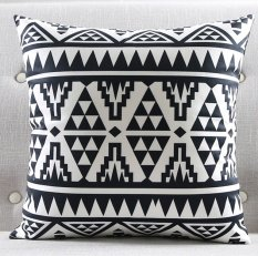 Throw pillows for sale throw pillow covers prices brands review modern black and white kids cushion covers geometric triangles stripes rug pattern pillow cover world map gumiabroncs Images