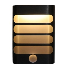 Modern Night Light, Motion Sensor Activated LED Wall Light, USB Rechargeable Wall Lamp Sconce
