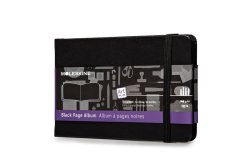 Moleskine Art Plus Black Page Album (Black)