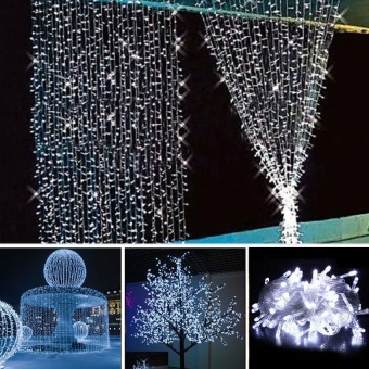 MU 10M 100 Light Source String Fairy Lights Indoor/Outdoor Christmas Party Light Lamp - intl