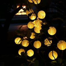 Fairy lights for sale led fairy light prices brands review in muilt color 30 led lantern ball solar string lights outdoor solar lamp fairy globe christmas decorative aloadofball Image collections
