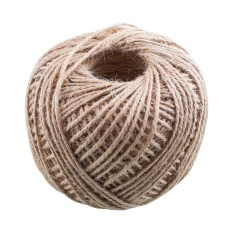 Soft 100M Jute Twine String Rope Floral Craft Wedding Gift Tags Wrap Decor