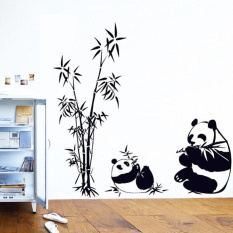 New Nature DIY Wall Sticker Bamboo Panda Wall Decal Sticker Wall Art Home  Decor   Intl