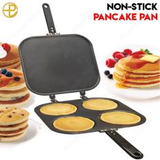 Non-Stick Flip Pancake Pan (black) By Prontotek Online.