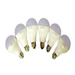 NSS NS-3107 LED Bulb 7W Set of 6 (White)