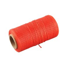 OEM 260Meter 1mm 150D Leather Wax Thread Craft (Red) (Intl)