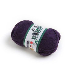 OEM 50g Smooth Bamboo Charcoal Cotton Stocking Yarn (Violet) (Intl)