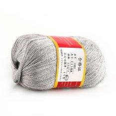 OEM 50g Sweater Wool Handcraft Knitting Yarn (Grey) (Intl)