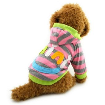 Philippines | Discount Pet Clothes Mini Smile Patch Striped