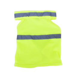Pet High Visibility Safety Vest Yellow - S