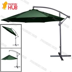 PhoenixHub All New 2018 Heavy Duty Multi Functional Umbrella Beach Umbrella  Patio Garden Umbrella 267x267x244cm