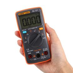 Portable Digital Multimeter AC/DC Ammeter Voltmeter Ohm Meter 6000 Counts Backlight - intl