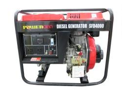 Powergen SFD4000 Portable Generator Black/Red