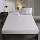 Waterproof Mattress Pad Hypoallergenic Protector Fitted Breathable Cool Cover